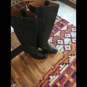 Madewell Watchtower Boots Black, Size 9.5